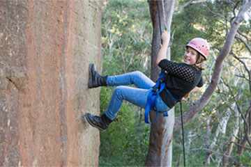 Abseiling - Cliff